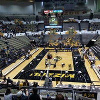 Photo taken at Hearnes Center by Ashley C. on 10/25/2013