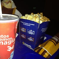 Photo taken at Cinépolis by Carlos H. on 1/2/2013
