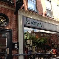 Photo taken at Kooma by bobby b. on 6/14/2013