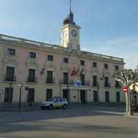 Photo taken at Ayuntamiento de Alcalá de Henares by Patricia O. on 1/30/2016