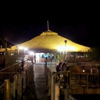 Photo taken at Lantaw Native Floating Restaurant by M Y. on 10/14/2012