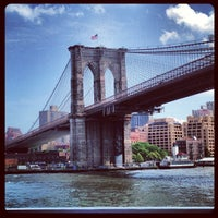 Photo taken at Brooklyn Bridge by Lorena F. on 6/19/2013