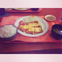Photo taken at Tonkatsuya by Rother B. on 10/9/2013