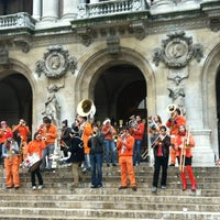 Photo taken at Place de l'Opéra by Clémence D. on 11/18/2012