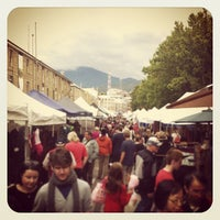 Photo taken at Salamanca Market by Ewa M. on 4/13/2013