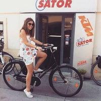 Photo taken at SATOR Bike-Shop by Réka S. on 12/1/2015