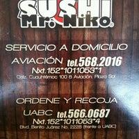 Photo taken at Sushi Mr. Niko by Karla V. on 6/1/2013