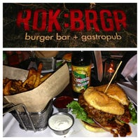 Photo taken at ROK:BRGR by Travis T. on 2/24/2013
