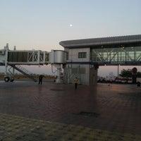 Photo taken at Pune International Airport (PNQ) by Auroshikha R. on 12/26/2012