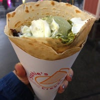 Photo taken at Sophie's Crepes by Christine C. on 12/28/2012
