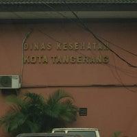 Photo taken at Dinas kesehatan Kota Tangerang by Disa K. on 7/26/2013