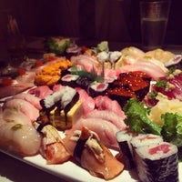 Photo taken at Sushi Masu by Emmy F. on 1/3/2014