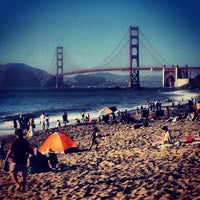 Photo taken at Baker Beach by Kapil D. on 6/30/2013