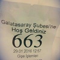 Photo taken at Garanti Bankası by Sa L. on 1/29/2016
