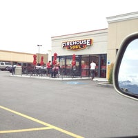 Photo taken at Firehouse Subs by Justin J. on 7/12/2013