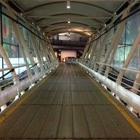 Photo taken at Chhatrapati Shivaji International Airport (BOM) by Nimesh M. on 4/22/2013