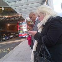 Photo taken at London Bridge Bus Station by Kat S. on 11/9/2012