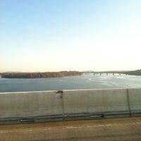 Photo taken at Millard E. Tydings Memorial Bridge by Miranda P. on 11/21/2012