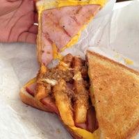 Photo taken at Pharos Burgers by Carlos B. on 4/13/2013