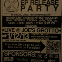 Photo taken at Joe's Grotto by Ryan M. on 1/13/2013