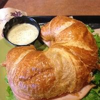 Photo taken at Paradise Bakery & Café by Cathy V. on 12/21/2012