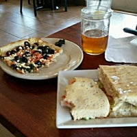 Photo taken at Amore Pizzeria & Cafe by Seaside T. on 8/24/2015