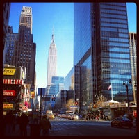 Photo taken at 34th & 8th by Lynnette R. F. on 1/3/2013