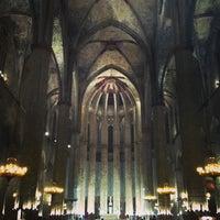 Photo taken at Basílica de Santa Maria del Mar by Pol M. on 3/5/2013
