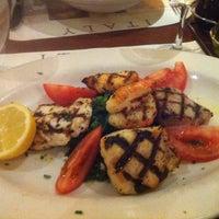 Photo taken at Cafe Med by Viviane M. on 5/8/2013