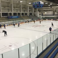 Photo taken at Ice Centre at the Promenade by Thomas R. on 7/22/2015