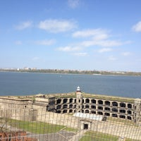 Photo taken at Fort Wadsworth by Sarit W. on 5/5/2013