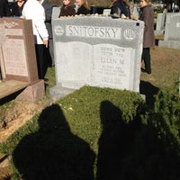 Photo taken at New Montefiore Cemetery by Robin S. on 11/4/2012