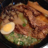 Photo taken at Ajisen Ramen by Emily U. on 4/13/2014