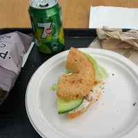 Photo taken at Bagel Nash by Mike C. on 9/15/2013