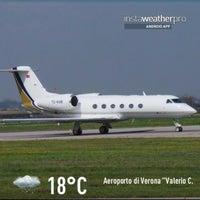 """Photo taken at Aeroporto di Verona """"Valerio Catullo"""" (VRN) by Gianluca R. on 4/13/2013"""