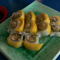 Photo taken at Sushi Time by Patricia B. on 1/15/2013