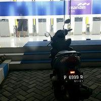Photo taken at Bank Mandiri by ROSA K. on 2/13/2016