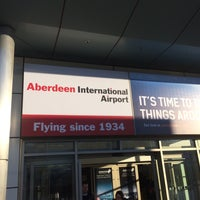 Photo taken at Aberdeen International Airport (ABZ) by Bruce S. on 11/23/2016