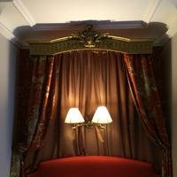 Photo taken at Hôtel de Buci by Heather E. on 8/13/2014