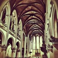 Photo taken at Gereja Katolik Katedral Jakarta by Adrian O. on 12/30/2012
