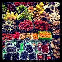 Photo taken at Mercat de Sant Josep - La Boqueria by Ibrahim E. on 3/18/2013