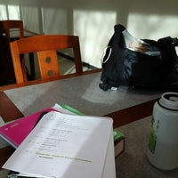 Photo taken at Barco Law Library by Ian E. on 4/20/2014