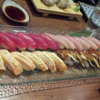 Photo taken at Miyabi Sushi by Moss F. on 9/28/2012