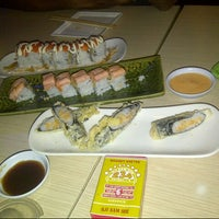 Photo taken at Sushi Naga by Sapta M. on 3/26/2014
