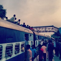Photo taken at Gurgaon Railway Station (GGN) by McKay T. on 8/27/2013