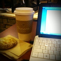 Photo taken at Panera Bread by Gina S. on 1/10/2014