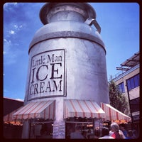 Photo taken at Little Man Ice Cream by Christopher T. on 6/8/2013