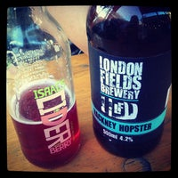 Photo taken at London Fields Brewery by Harv N. on 7/28/2013