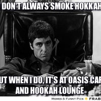 Photo taken at Oasis Cafe And Hookah Lounge by Khalil A. on 10/10/2012