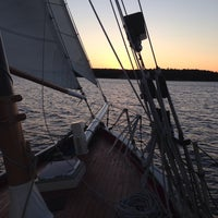 Photo taken at Schooner Landing by Jill V. on 9/18/2014